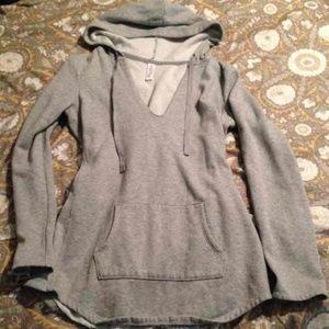 VS deep v tunic sweatshirt